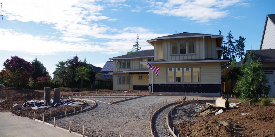 Custom Homes for Severely Injured Veterans by Westside Drywall